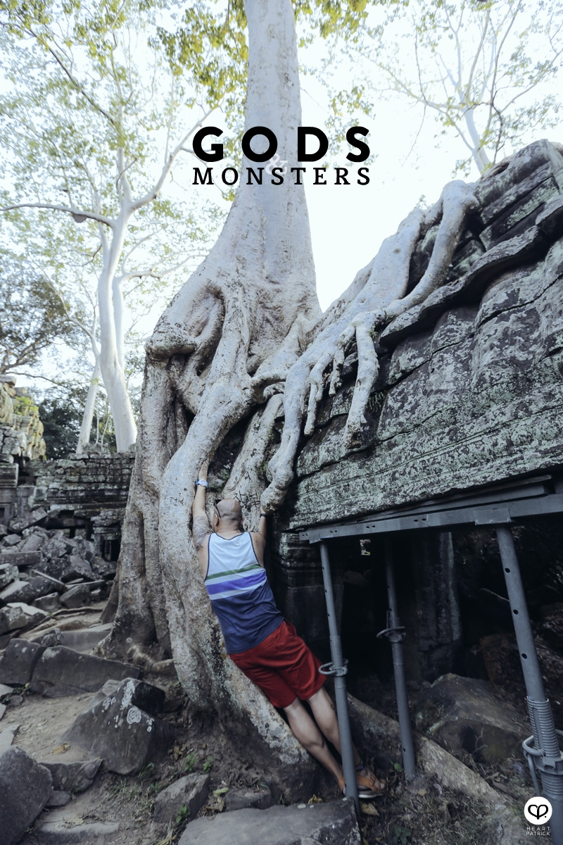 cambodia travel siem reap angkor thom creative portrait