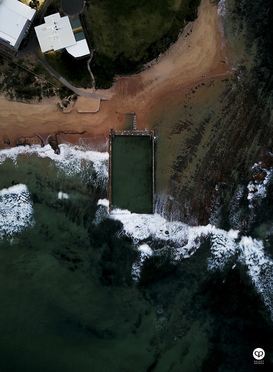 heartpatrick New South Wales Australia aerial drone photography