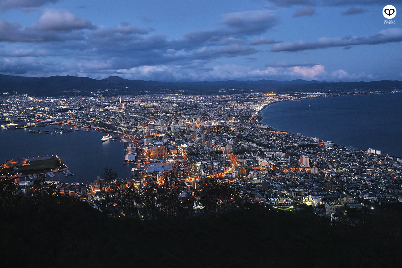 heartpatrick travel photography photojournalism hokkaido japan street mount hakodate night view