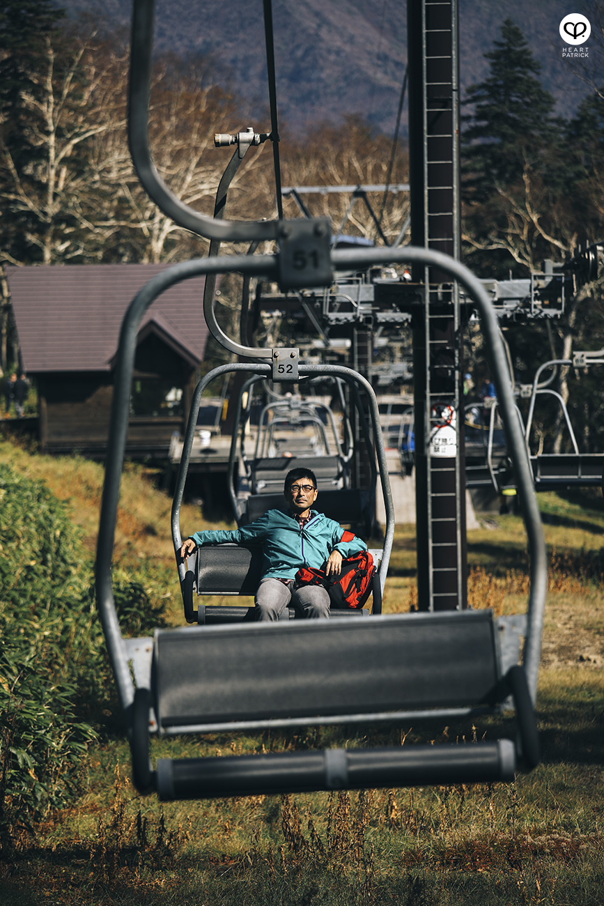 heartpatrick travel photography photojournalism hokkaido japan street daisetsusan national park chairlift