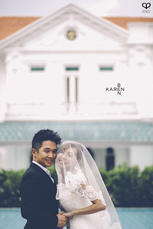 wedding prewedding portrait georgetown penang macalister mansion