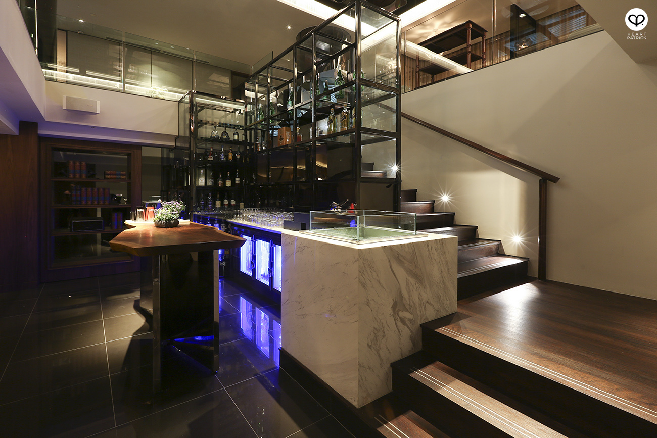 heartpatrick interior architectural photography Cilantro restaurant wine bar micasa jalan u thant