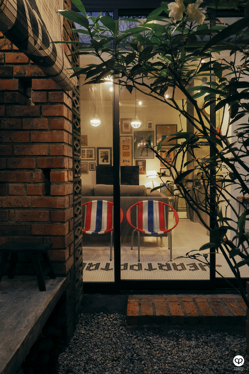 heartpatrick spaces industrial vintage interior design courtyard garden centrio pantai hillpark