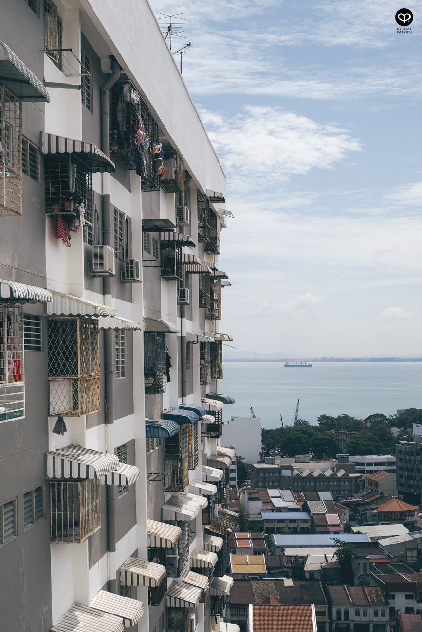 heartpatrick urban explorer urban jungle low-cost flats apartments penang georgetown