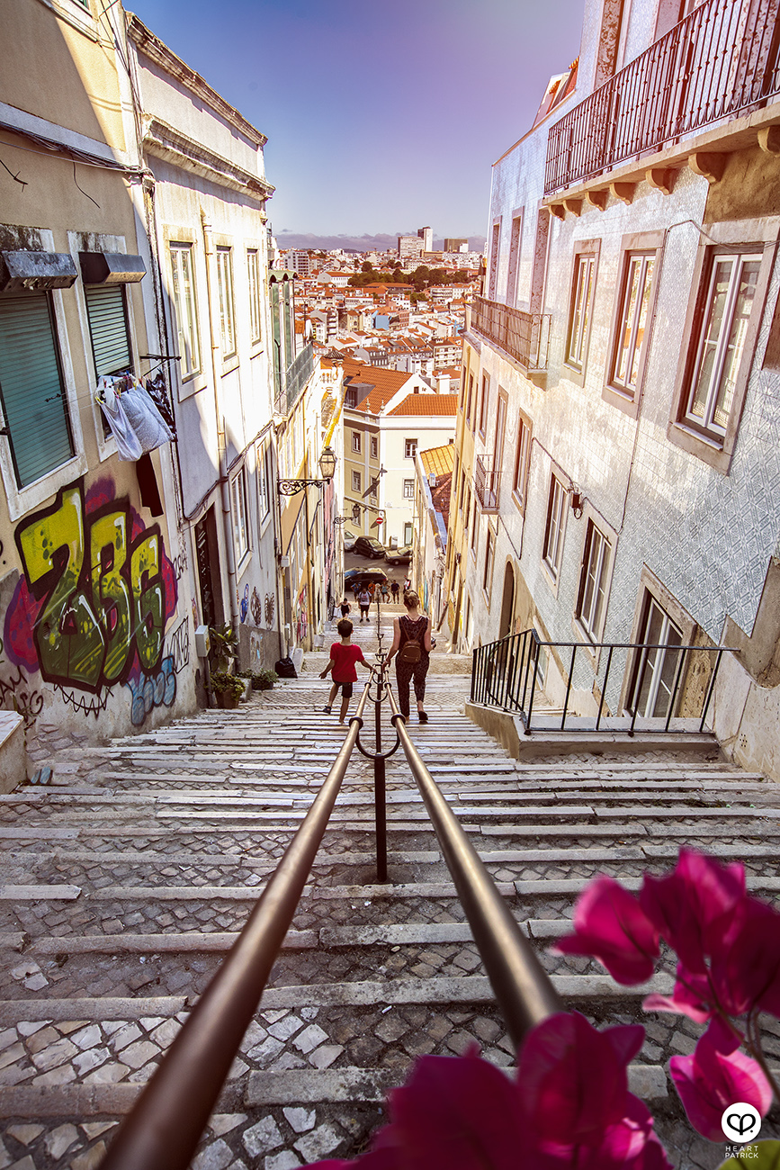 heartpatrick travel photography street lisbon portugal summer