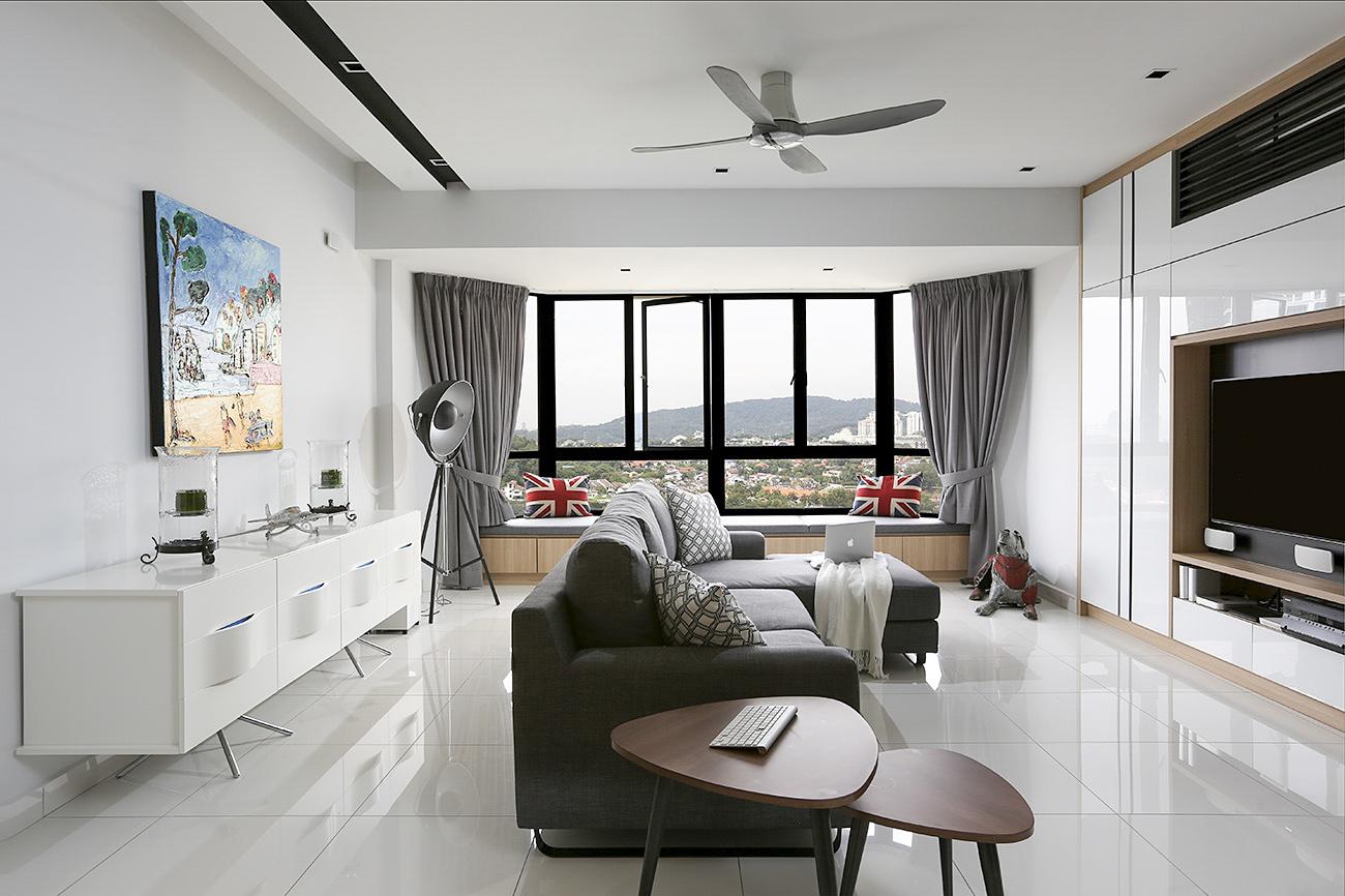 Heartpatrick Architecture Interior Sri Penaga Condo Bangsar Kuala Lumpur