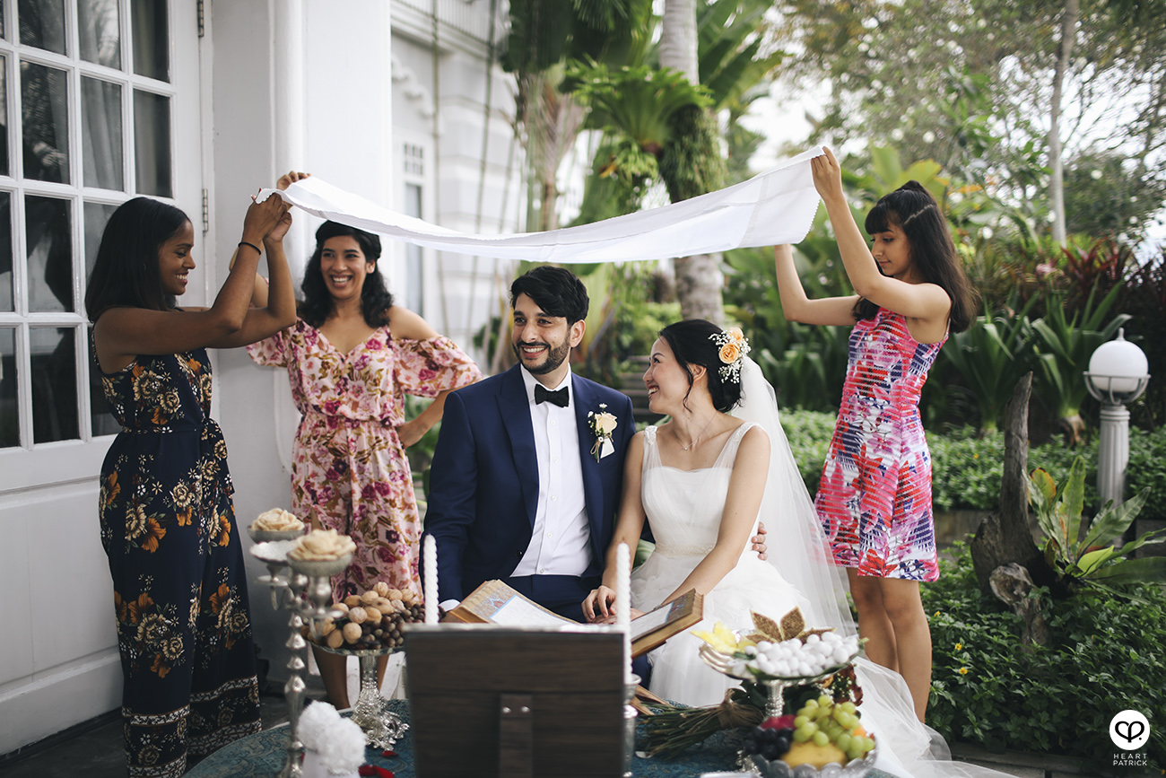 heartpatrick traditional persian wedding ceremony E&O hotel georgetown penang